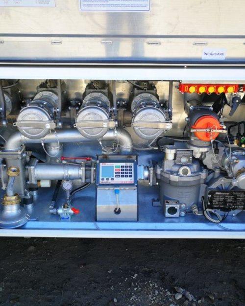 instalatie cisterna transport combustibil